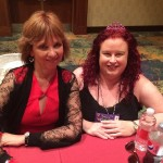 Meeting my idol and writing inspiration (ie: Nora Roberts)...priceless!